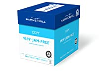 Hammermill Paper, Copy Paper Poly Wrap, 20lb, 8.5 x 11, Letter, 92 Bright, 2400 Sheets / 6 Ream Case (150200C) Made In The USA