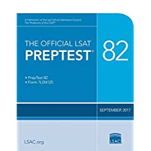 The Official LSAT Preptest 82: Sept. 2017 LSAT