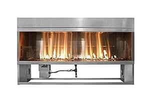 firegear ofp-36ltfs-p Kalea bahía lineal para exteriores chimenea, 91,44cm, propano