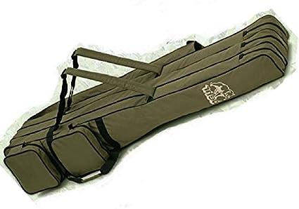 Behr Rutentasche Futteral 1,50m für 2 oder 3 Ruten im Camou Design