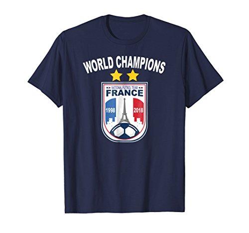 Cup World Winners (France Soccer T Shirt Team Flag Gift Futbol World Champions)