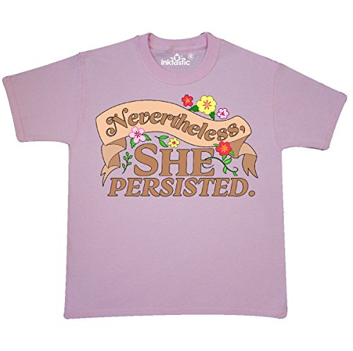 Country Kids Light T-shirt (Inktastic - Nevertheless, She Youth T-Shirt Youth Small (6-8) Light Pink)