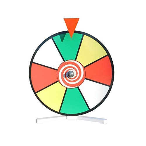"Find Cheap Prize Wheel 12"" Color Face Dry Erase Spin Wheel with Kid Safe Pegless Design"