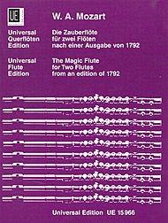 Magic Flute, Flute Duet - Mozart - UNIVERSAL EDITION - 2 Flutes - Flute Duet - UE015966 ()