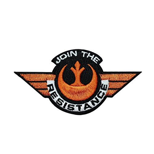 Disney Star Wars Join the Resistance Patch Officially Licensed Iron On Applique