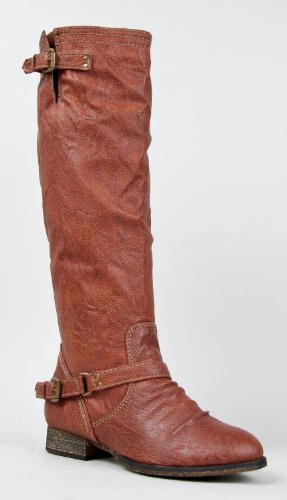Boot Rust High Knee 81 Breckelles Women's Outlaw wq6qXY