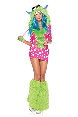 [Melody Monster Adult Costume Small/Medium] (Sexy Monster Halloween Costumes)