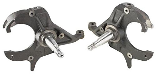 NEW SOUTHWEST SPEED 2'' DROP SPINDLES FOR 1979-1987 GM A- G-BODY, FITS STOCK BALL JOINTS & BRAKES, STEERING KNUCKLES, EL CAMINO, MONTE CARLO, CUTLASS, LEMANS, BONNEVILLE, 82-97 S10, S15