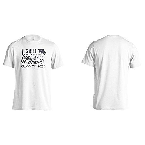 Es Ist Lustig, Aber Ich Bin Froh, Dass Wir Fertig Sind! Klasse Von 2025 Herren T-Shirt k880m