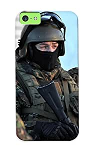 Crooningrose Case Cover For Iphone 5c - Retailer Packaging Soldiers Special Forces Military Protective Case