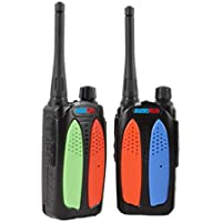 RADIOPLUS CN-588Plus 3W UHF Mini Two Way Radio 400-470MHz Two Way Radio Walkie Talkie (Pack of 2)