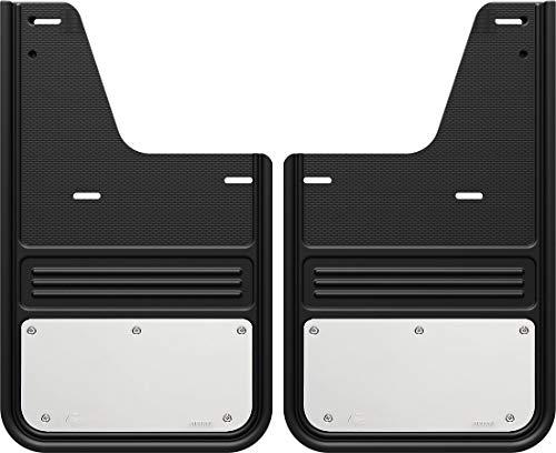 Gatorback RAM Stainless Steel Plate Truck Mud Flaps (2009-18 RAM Rear - Single Rear Wheel)