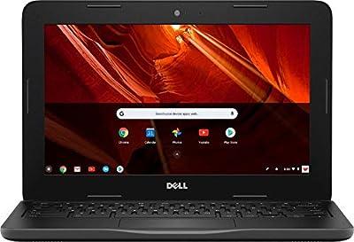 "Dell Inspiron C3181-C871BLK-PUS Laptop (Windows 10, Intel N3060, 11.6"" LCD Screen, Storage: 16 GB, RAM: 4 GB) Black"