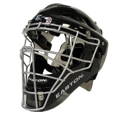 Easton Stealth Catcher's Helmet (Red, Large) by Easton