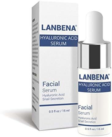 Hyaluronic Acid Serum,lotus.flower 15ML Face Lift Vitamin Serum Hyaluronic Liquid Moisturizing Anti Wrinkle (15ML)