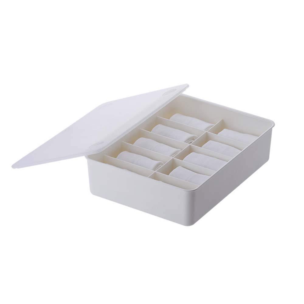 Organizador de ropa interior PP Tipo de cajón Partición Cajas de ...