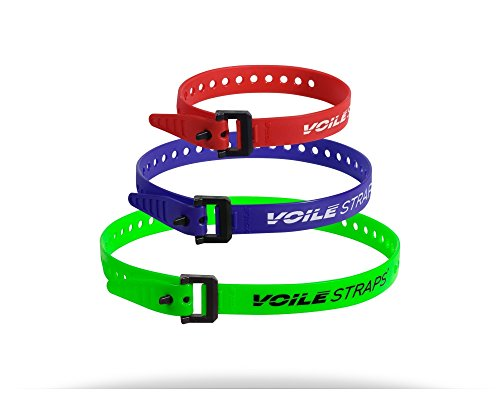 Voile Straps - Nylon Buckle Variety Pack by Voile