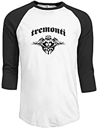 Mark Tremonti Alter Bridge Men's Tee Shirt Fashion 3/4 Sleeve T Shirt