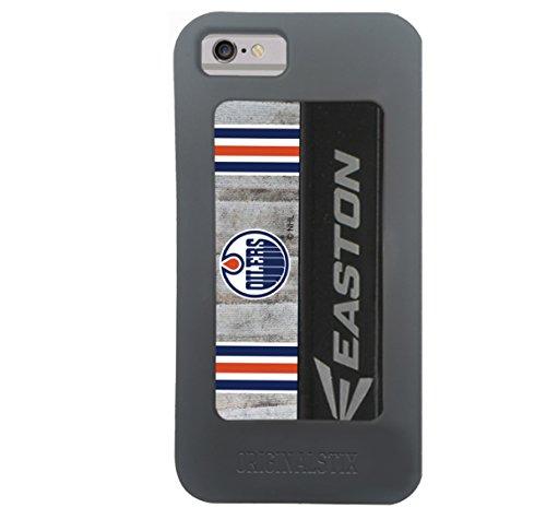- NHL Edmonton Oilers Unisex OS-NHL-Edm-Art-001-iph7Edmonton Oilers Recycled Hockey Stick iPhone 7 Case, Black