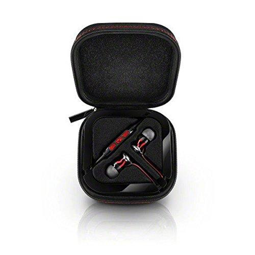 Sennheiser HD1 M2 IEI-BLACK Momentum In-Ear Headphones (iOS) Black/red