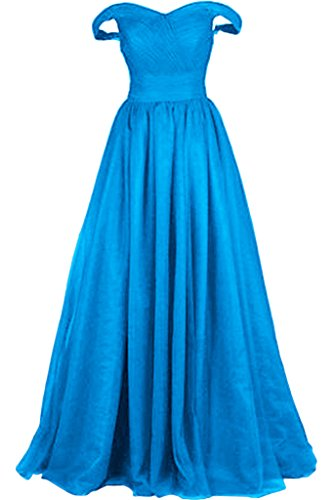 Promgirl House - Robe - Trapèze - Femme -  Bleu - 36