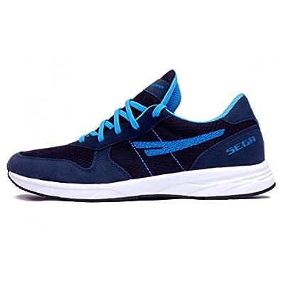 super popular 4dc4e e2cc8 SEGA Navy Blue Marathon Running Shoes.