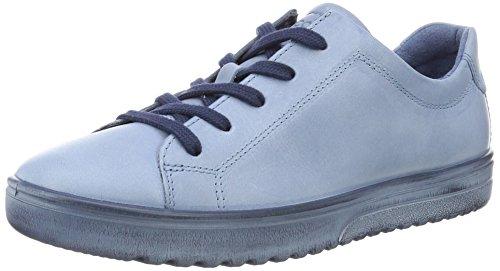 Azul Zapatos para Fara ECCO Blue Cordones Derby de 2471retro Mujer 01Zx5qS
