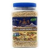 ORGANIC BROWN BASMATI RICE(32 oz) Organic-Non GMO-All natural Aromatic- Kosher