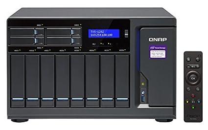QNAP TVS-1282 NAS Torre Ethernet Negro - Unidad Raid (80 TB ...
