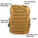 KIDYBELL Khaki Adjustable Airsoft Vest Lightweight