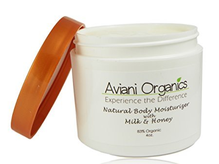 Aviani Organics Natural and 83% Organic Premium Body Lotion