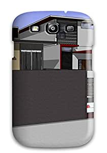 Excellent Design Modern Houses Phone Case For Galaxy S3 Premium Tpu Case