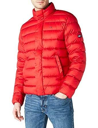 Tommy Hilfıger Erkek Light Down Ceket, Kırmızı, M