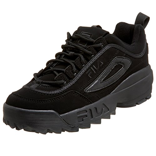 Fila Men's Disruptor II Sneaker,Triple Black,10 M US