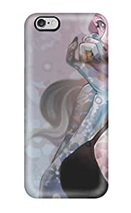 New Iphone 6 Plus Case Cover Casing(nice Anime On Flowers )