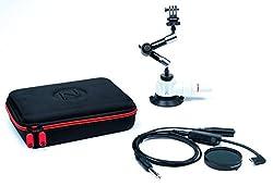 Nflightcam Cockpit Video Kit For Gopro Hero5 & Hero6 Black