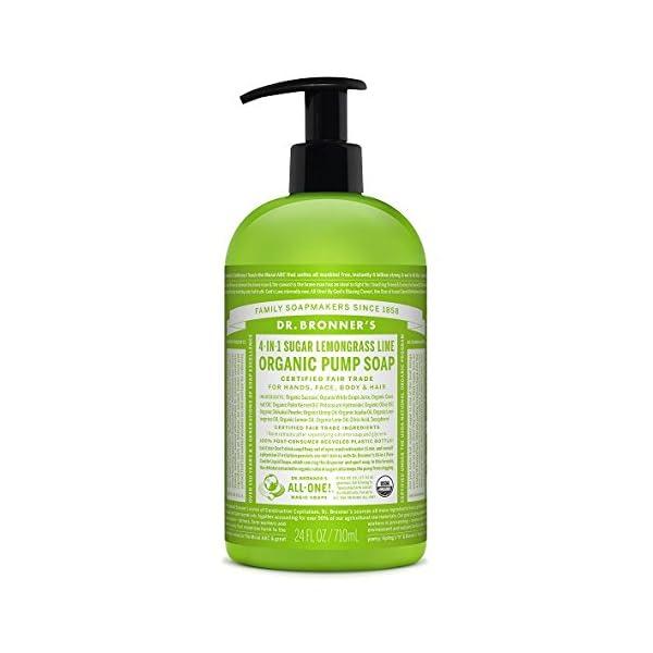 Dr Bronner's 710 ml Organic Liquid Lemongrass Hand Soap