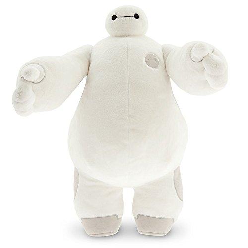 "Disney Store Baymax White 15"" Plush Toy: Big Hero 6 Healthcare Companion Robot"