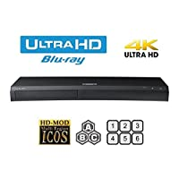 Samsung UBD-M7500 4K UHD Blu-ray Player Multiregion Blu-ray and DVD. Code Free Blu-ray Player for All Zone playback