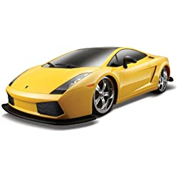 Maisto R/C 1:10 Scale Lamborghini Gallardo Radio Control Vehicle (Colors May Vary)