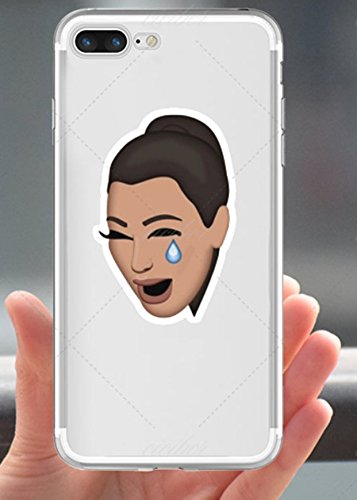 finest selection bb2e0 e3397 N/A Kim Kardashian Iphone X Case Crying Kimoji Emoticon Cover Kim K ...