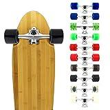 VJ Skateboard Longboard Truck and Wheel, 70mm