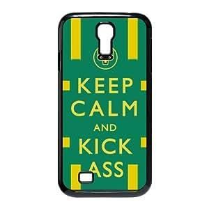 chen-shop design Custom Your Own Keep Calm and Kick Ass SamSung Galaxy S4 I9500 Case , Special designer Kick AssGalaxy S4 Case high XXXX