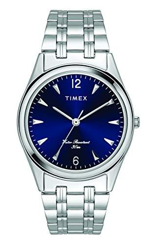 Timex Analog Blue Dial Men's Watch-TW000BQ09
