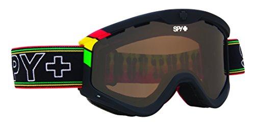 (Spy Optic Targa 3 Snow Goggles, One Love Frame, Bronze Lens)