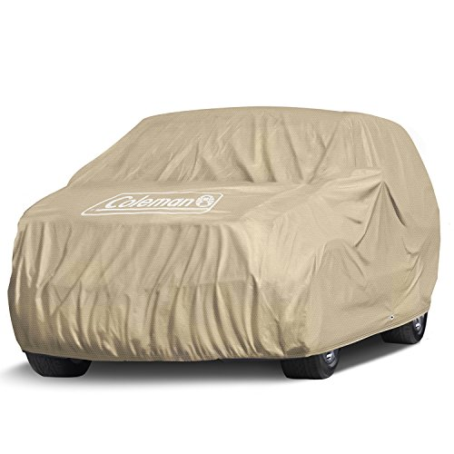 Coleman Premium Executive SUV Cover -Indoor-Outdoor Cover Waterproof/Dustproof/Scratch Resistant/UV Protection for Vehicles up to 225