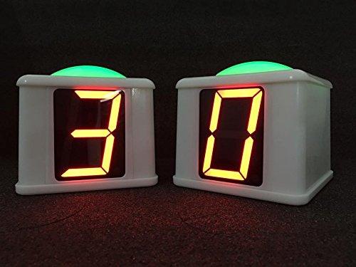 SIX StandAlone Wireless Scoreboard Cube BUZZERS and Host Remote