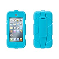 Griffin Survivor with belt clip for 5th gen. iPod touch, pool blue - Ridiculously over-engineered? Or the perfect case for your iPod touch no matter where you're headed?