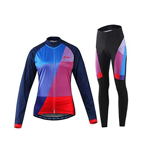 Ouqian Traje de Ciclismo para Hombres Equipo de montaña Femenino ...