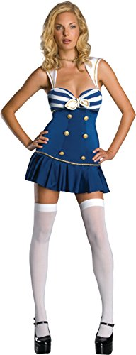 Anchors Away Sailor Costume, M, (Merchant Sailor Costume)